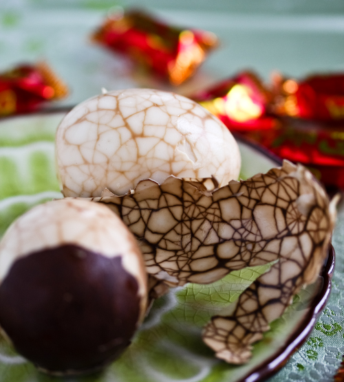 Beautiful tea eggs: Courtesy  The Steamy Kitchen