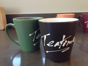 Teatime mugs designed by me. Perfect for that cup of strong, malty Assam Tea.