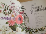 flower book inside page